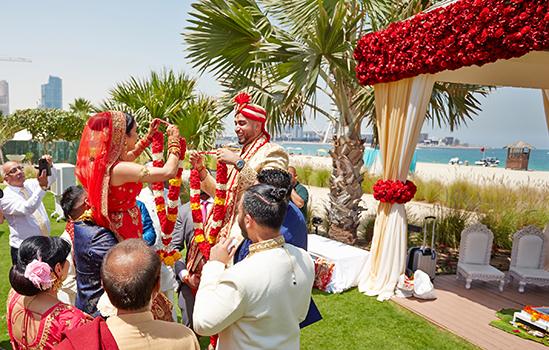 Krishen & Disha - Ritz Carlton Jumeriah Dubai