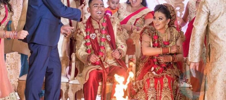 Anish & Dasita @ Stanmore Mandir