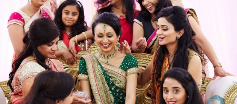 Vivek & Bhakti's – Engagement Ceremony @ Shree Kutch Temple