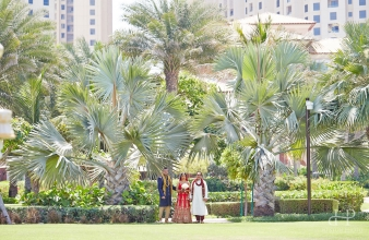 Krishen & Disha – Ritz Carlton Jumeriah Beach  – Dubai